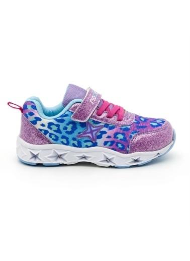 Noxis Noxis Dance Işıklı Kız Çocuk Yürüyüş ve Spor Ayakkabısı Lila
